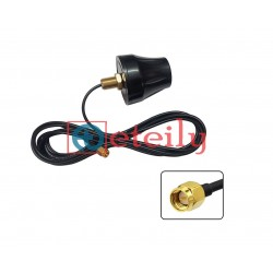 2.4GHz / Wi-Fi 4dBi Screw Mount Antenna with RG174 Cable | SMA Male Straight Connector - ETEILY TECHNOLOGIES