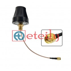 433MHz 4dBi Screw Mount Antenna with RG178 Cable | SMA Male Connector
