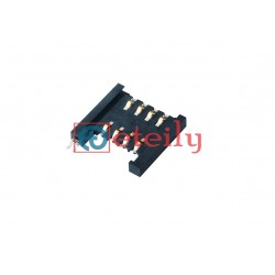 SIM Card Connector 8Pin Push-Pull Type