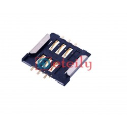 SIM Card Connector 6Pin Push-Pull Type