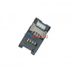 SIM Card Connector 8 Pin Flip Type with Metal Lock - ETEILY TECHNOLOGY