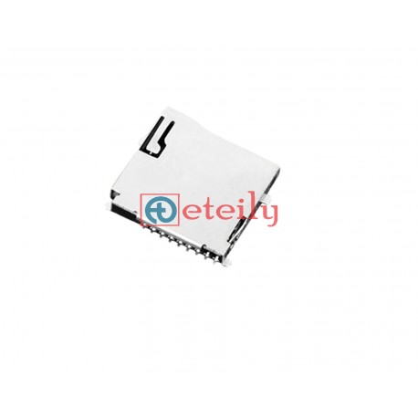 Micro SD Card Connector 8Pin Push-Push Type - ETEILY TECHNOLOGIES