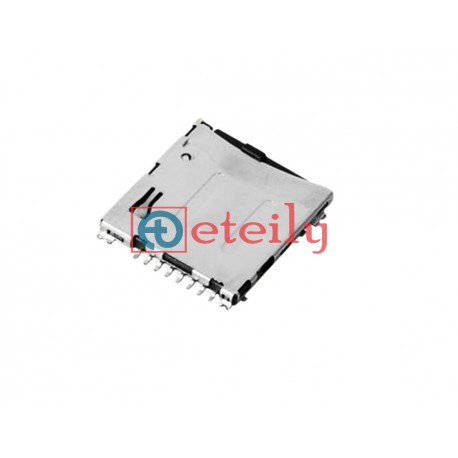 Micro SD Card Connector Push-Push H1.5mm - ETEILY TECHNOLOGIES