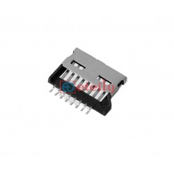 Micro SD Card Connector Push-Pull Type 1.50H - ETEILY TECHNOLOGIES