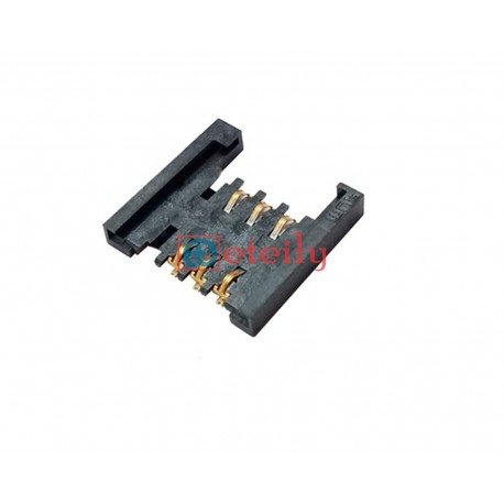 Micro SIM Card Connector 6Pin without Metal Bridge - ETEILY TECHNOLOGIES