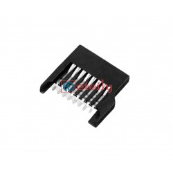 Micro SD Card Connector Push-Pull Type Plastic Body - ETEILY TECHNOLOGIES