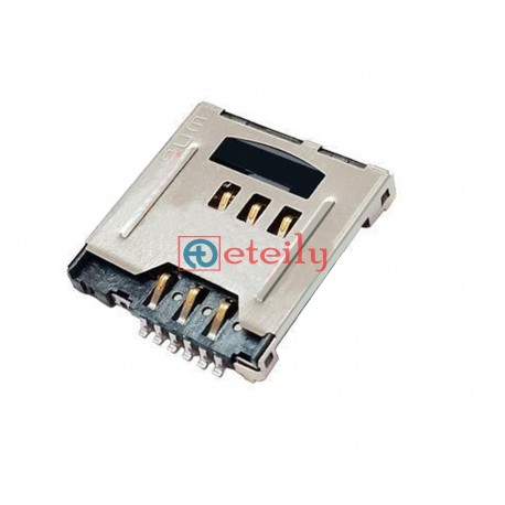 SIM Card 6Pin + Micro SD Card 8Pin Connector Push-Pull Type - ETEILY TECHNOLOGIES