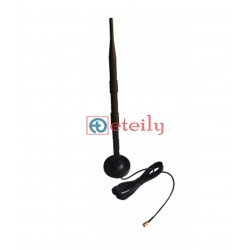 2.4GHz 9dBi Rubber Magnetic Antenna with RG174 Cable | SMA Male Connector - ETEILY TECHNOLOGIES