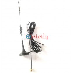 4G 10dBi Spring Magnetic Antenna with RG174 Cable | SMA Male Connector