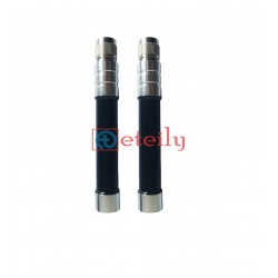 Wideband Fiberglass Antenna with N Male Straight Connector ETEILY