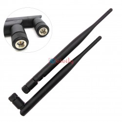 433MHz 5dBi Rubber Duck Antenna with SMA Male Connector (Movable Body)