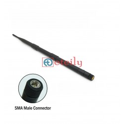 865MHz 12dBi Rubber Duck Antenna with SMA Male Movable Connector