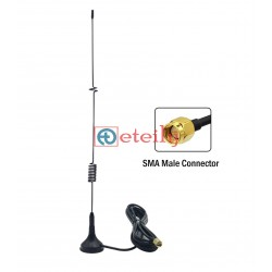 GSM 7dBi Spring Magnetic Antenna with RG 174 Cable | SMA Male Connector ETEILY