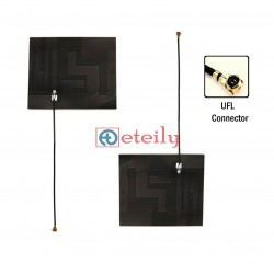 GSM/3G/4G Wideband 8dBi PCB Flexible Antenna with 1.13mm Coaxial Cable | U.FL Connector