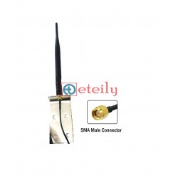 4G 5dBi Rubber Duck Antenna with SMA Male Connector | SMA Male Connector ( with L Bracket ) - ETEILY TECHNOLOGY