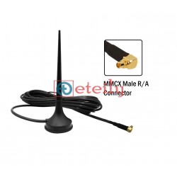 4G 3dBi Magnetic Mount Antenna with RG 174 Cable | MMCX R/A Connector ETEILY