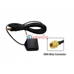 GPS/GLONASS Magnetic Antenna with RG174 Cable | SMA Male Connector