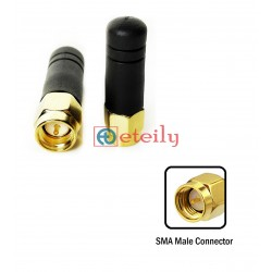 2.4GHz Stub Antenna with SMA Male Straight Connector