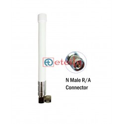 2.4 GHz, 5.8 GHz 5dBi Dual Band Fiberglass Antenna with N Male Connector ETEILY