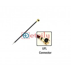 UFL Connector + Open End with 1.13mm Coaxial Cable