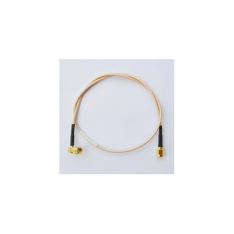 SMA Male R/A To SMA Male RG 316 Cable 0.5 M