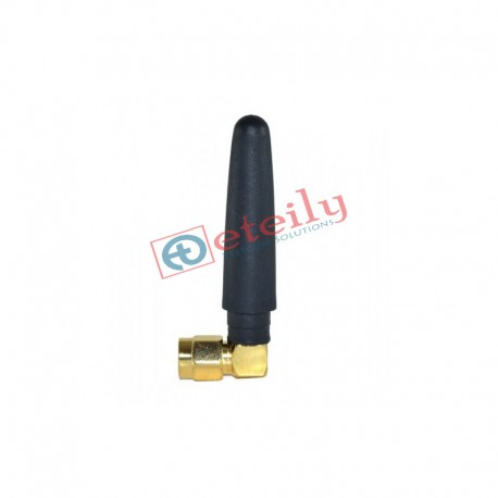 GSM 2.5dBi Rubber Duck Antenna with SMA Male R/A Connector ETEILY