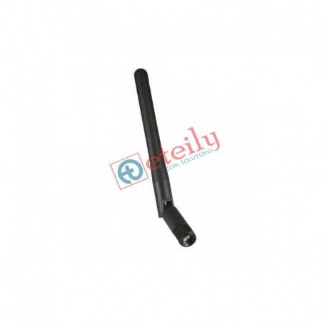 433 MHz 3dBi Rubber Duck Antenna with SMA Male Movable Connector ETEILY