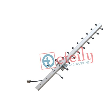 GSM 14dBi Yagi Antenna with RG 58 Cable | N Female Connector ETEILY