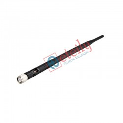 CDMA 5dBi Rubber Duck Antenna with TNC Male Movable Connector (Black Colour) ETEILY