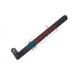 2.4 GHz/5.8 GHz 3dBi Dual Band Rubber Duck Antenna with SMA Male Movable