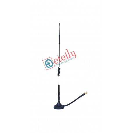 4G 9DBI MAGNETIC ANTENNA SMA MALE STRAIGHT CONNECTOR  RG-58 CABLE 10cm