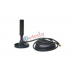 2.4 GHz/5.8 GHz 5dBi Magnetic Mount Antenna with RG 58 Cable | SMA Male Connector