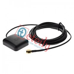 GPS Magnetic Antenna with RG174 Cable | SMA Male St. Connector