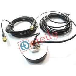 COMBO SCREW TYPE rg 174 cable  3MTR+SMA(M)St  46mm