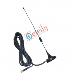 GSM 6dBi Spring Magnetic Antenna with RG 58 Cable | SMA Male Connector