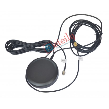 COMBO MAGNETIC ANTENNA WITH RG174 3MTR CABLE SMA MALE CONNECTOR
