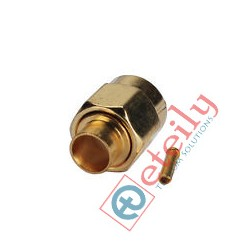 SMA (M) St. Connector for RG 141 Cable