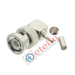 BNC (M) R/A Connector for RG316 Cable