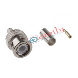 BNC (M) St. Connector for RG58 Cable