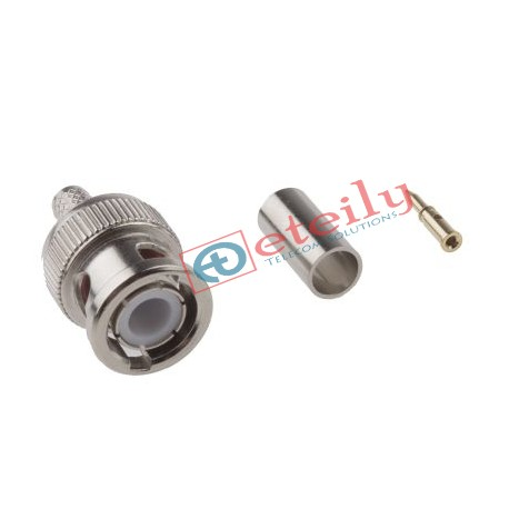 BNC (M) St. Connector for RG58 Cable - Eteily Technology