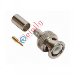 BNC (M) St. Connector for RG59 Cable