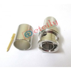 BNC (M) Straight Connector for RG11 Cable
