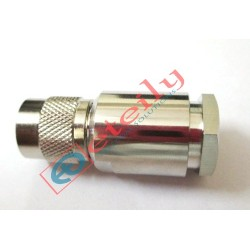 TNC (M) St. Clamp Connector for HLF400 Cable