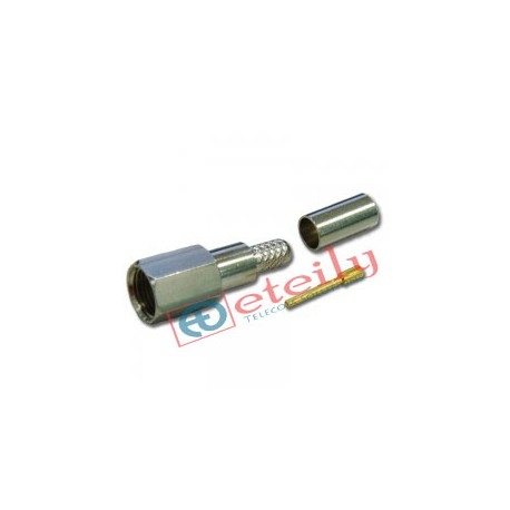 FME (m) st.for Rg 58 Cable