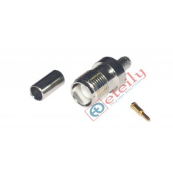 TNC (F) RP St. Connector for RG58 Cable