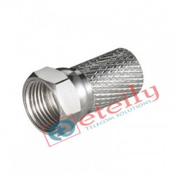 F Connector For RG6(CCTV F Connector,TV Aerial Cable Screw Twist Coax F RG6)
