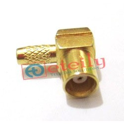 MCX (f) R/A for Rg 316 Cable