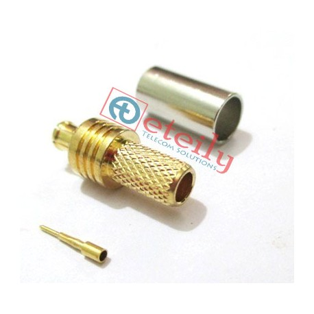 MCX (m) st.for Rg 316 Cable
