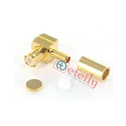 MCX (M) R/A Connector for RG316 Cable