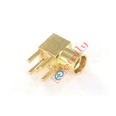 MMCX Female R/A PCB Mount Connector